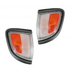 Signal Light Black Bezel Front Pair
