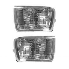 03-05 Toyota 4Runner Parklamp/Turn Signal; (bumper-mtd), w/o DRL Front PAIR