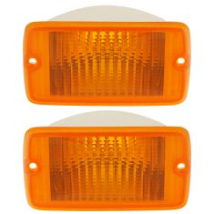 97-00 Jeep Wrangler Parking Light (Front of Fender) PAIR