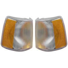 88-90 Volvo 760 91-94 940 960 w/Fog Turn Signal Light PAIR
