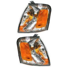 98-99 Toyota Avalon Corner Parking Light Front PAIR