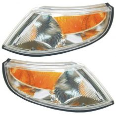 99-01 Saab 9-5 Corner Parking Light PAIR