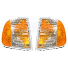 97 (thru 5/96) Ford F150 F250 Corner Parking Light PAIR