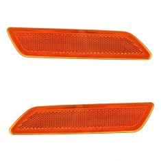 07-10 Chrysler Sebring Sedan; 08-10 Sebring Conv Front Side Marker Light Reflector PAIR