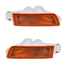 95-97 Toyota Avalon Inner Parking Turn Signal Light (Bumper Mtd) PAIR