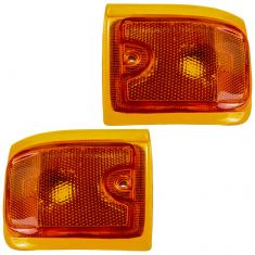 96-02 GMC Savana Van (w/Composite HL) Lower Side Marker Light (Grille Mtd) PAIR