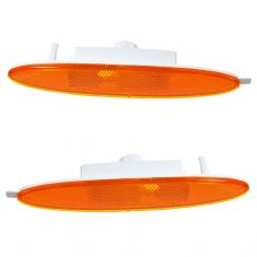 2002-04 Chrysler Concorde; 99-01 LHS Side Marker Light (Bumper Mtd) PAIR