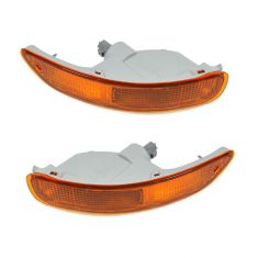 1993-97 Toyota Corolla Parking Turn Signal Light (Bumper Mtd) PAIR