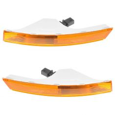 2006-10 VW Passat Parking Turn Signal Light (Bumper Mtd) PAIR