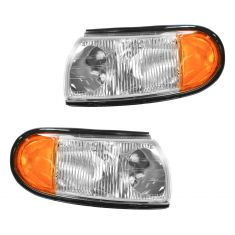 1996-98 Mercury Villager, Nissan Quest Corner Parking Light PAIR
