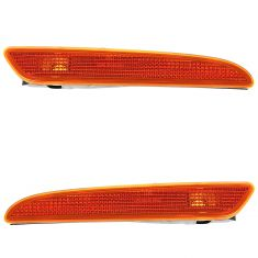 07 MB E280; 07-09 E320, E350, E550, E63 AMG; 09 E300 Side Marker Light PAIR