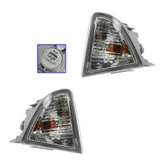 12-13 Toyota Prius C Side Marker Light (Bumper Mounted) PAIR
