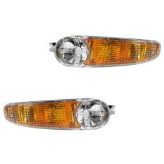 01 Sierra 1500; 02-06 Sierra Denali Classic; 01-06 Yukon, Yukon XL Parking Turn Signal Light PAIR