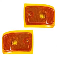 1996-02 Chevy Express Van Turn Signal Light Lower PAIR