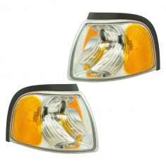 01-10 Mazda B2300, B4000; 01 B2500; 01-08 B3000 Fender Mounted Parking Turn Signal Light LF RF Pair