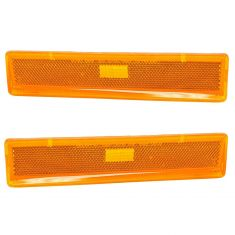 80-86 Ford F150 F250 F350 Bronco Fender Mounted Parking Light Pair