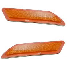 12-15 BMW 3 Series Sedan Front Bumper Mounted Side Marker Light Assy Pair