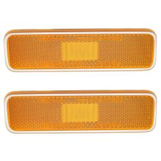 71-91 Dodge Truck, SUV, Dart, Charger, Barracuda Front Fender Mounted Side Marker Light Pair