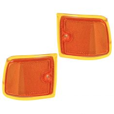 96-02 Chevy Express Van Turn Signal Light Upper Pair