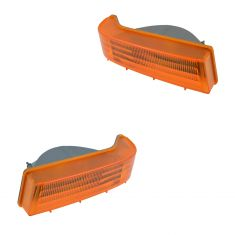 92-96 Ford Bronco, F150; 92-97 F250, F350, F450 Below Headlight Mtd Turn Signal Light Pair (Ford)
