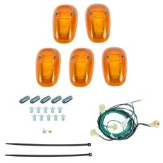 02-08 Dodge Ram 1500; 02-09 2500, 3500 Roof Mtd Cab Clearance Running Lights w/Install Kit (Mopar)