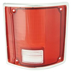 73-91 Jimmy Taillight Lens w/Chrm RH