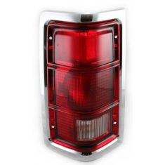 1988-93 Dodge Truck Tail light Chrome LH