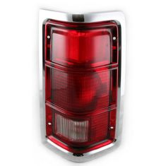 1988-93 Dodge Truck Tail light Chrome RH