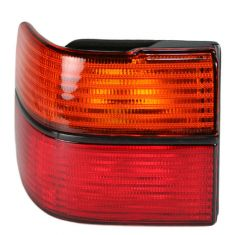 1993-99 VW Jetta Red & Amber Outer Taillight Lens LH