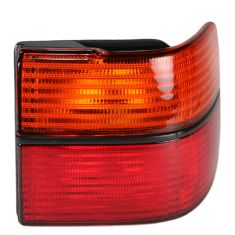 1993-99 VW Jetta Red & Amber Outer Taillight Lens RH