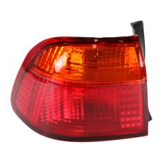 99-00 Honda Civic Sedan 1/4 Mtd Taillight LH