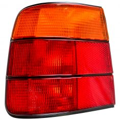 1989-95 BMW 525i Tail Light Red and Amber LH