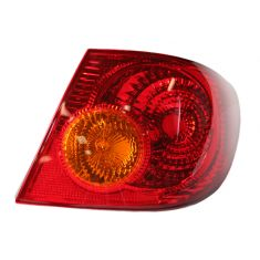 2003-04 Toyota Corolla Tail Light RH