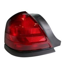 99-05 Ford Crown Victoria Red w/Blk Taillight LH
