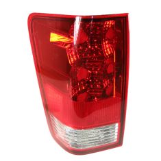 2004-07 Nissan Titan Tail Light LH for Trucks WITH Utility Compartment