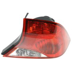 2003-04 Ford Focus Sedan Tail Light with Black Housing Passenger Side