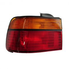 1990-91 Honda Accord Tail Light Driver Side for Sedan/Coupe Lens and Housing