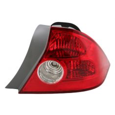 2004-05 Honda Civic Coupe Tail Light Passenger Side for Coupe
