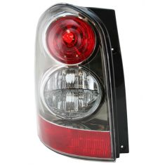 2004-06 Mazda MPV Tail Light Driver Side With Black Bezel