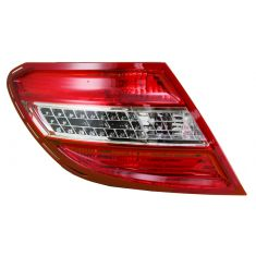 2008-10 Mercedes C-Class w/AFS LED Taillight LH