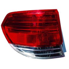 2008-10 Honda Odyssey Outer Taillight LH