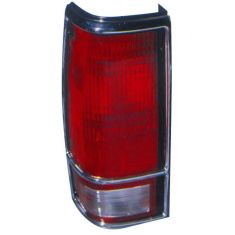 1983-94 S10 Blazer S15 Jimmy Taillight (w/Chrome Bezel) LH