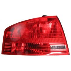 2005-08 Audi A4 Sedan (outer) Taillight LH