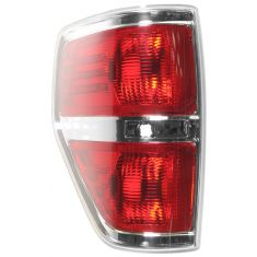 09-11 Ford F150 Styleside Taillight w/Chrome Edge LH