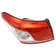 10-11 Lexus ES350 Outer Taillight LH