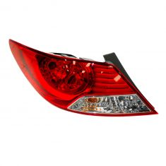 12-13 Hyundai Accent Sedan Outer Taillight LH