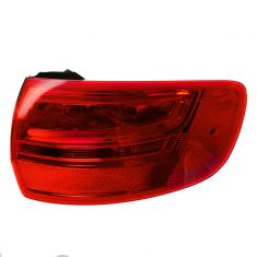 09-13 Audi A3 (w/o Rear Fog Lamps) Outer Taillight RH