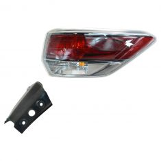 14 Toyota Highlander Outer Taillight RH