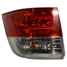 14 Honda Odyssey Outer Taillight LH