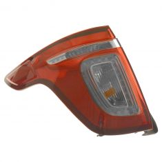 11-15 Ford Explorer (exc. Police Package) Red Lens Taillight LH